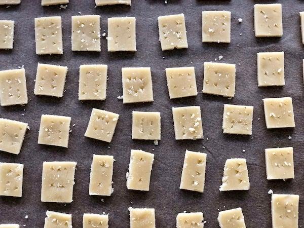 Best Easy 2 Ingredient Parmesan Cheese Crackers