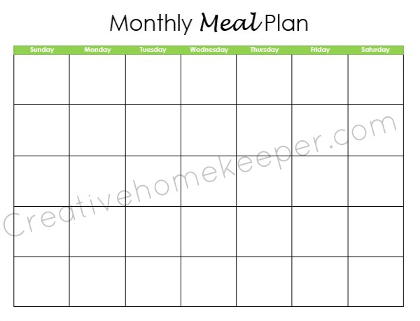 Meal Planning Through the Seasons - Creative Home Keeper
