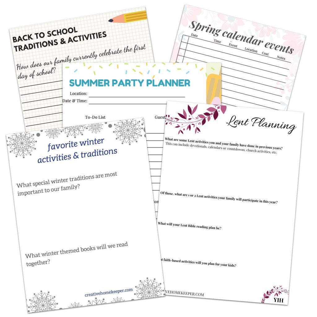 Plan Your Best Year Ever Setting Up Your Planning Day For