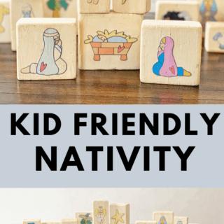 DIY Kid Friendly Nativity