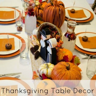 Thanksgiving Table Decor Housewives Style - Housewivesofriverton.com