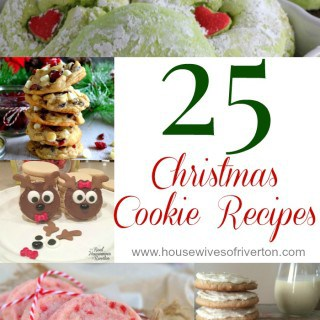 25 Christmas Cookie Recipes to make your holiday baking and gift giving easier!   www.housewivesofriverton.com