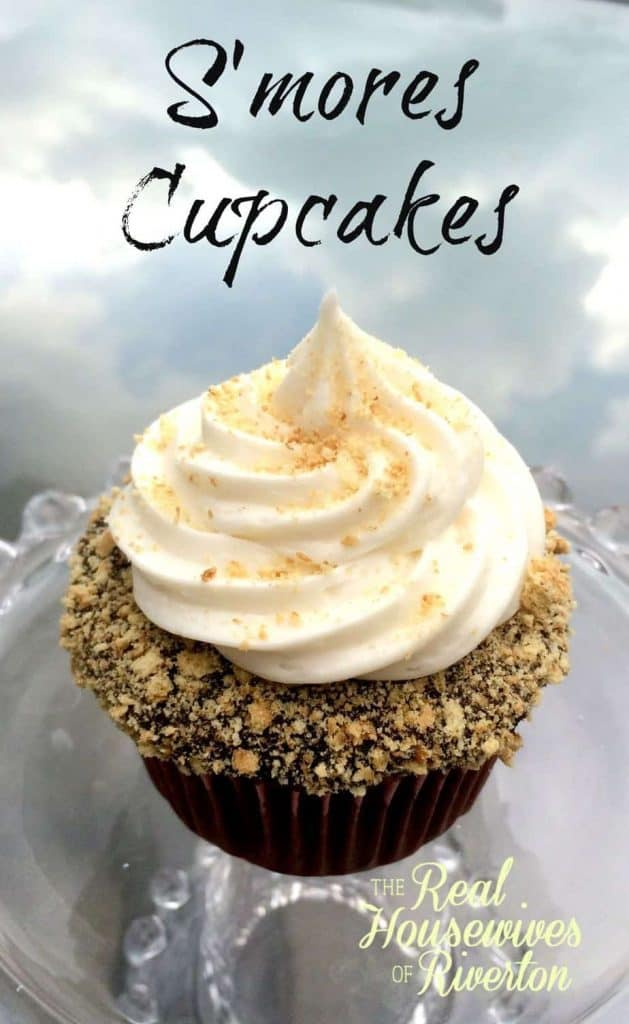 S'mores Cupcakes   www.housewivesofriverton.com