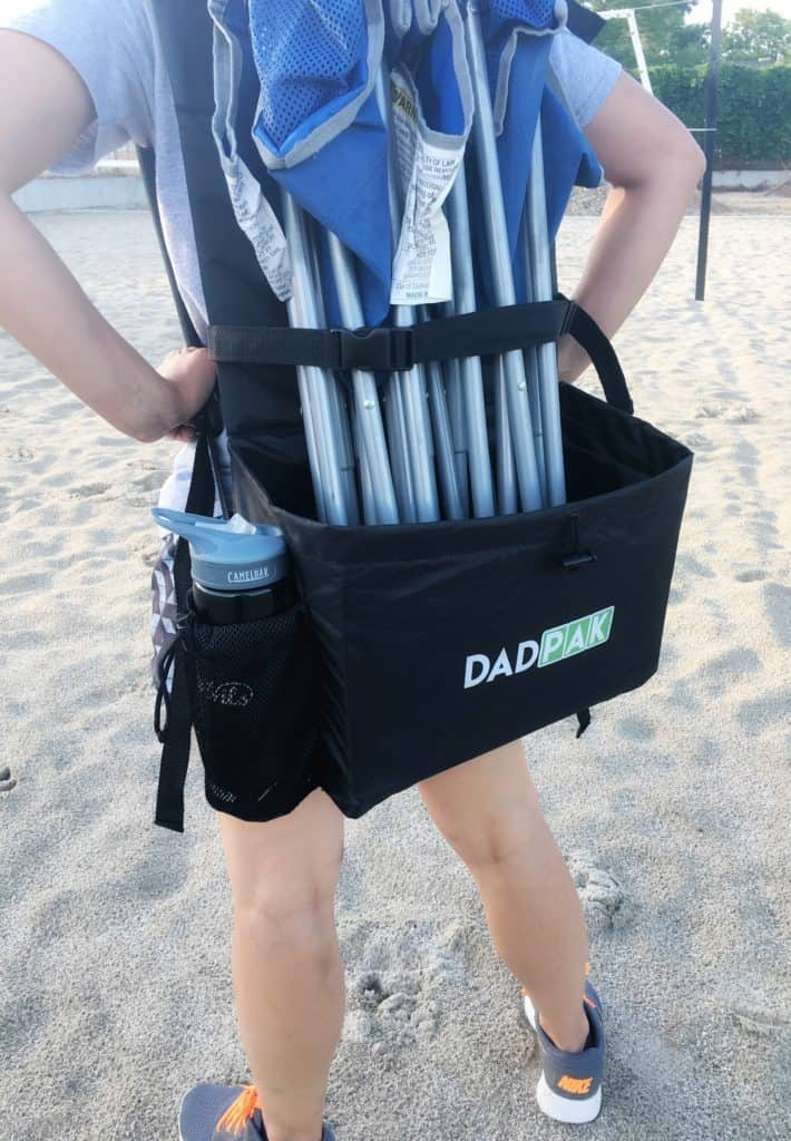 Keep your stuff all together and your hands free with DadPak! | www.housewivesofriverton.com