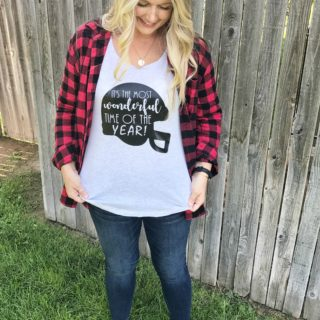 DIY Football Tee with Cricut Maker