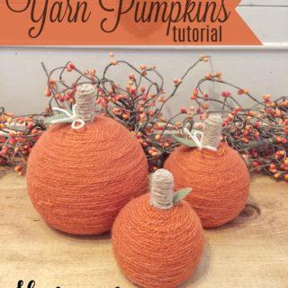 yarn pumpkins tutorial - housewivesofriverton.com