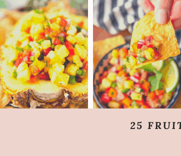 25 Fruit Salsa Recipes - header