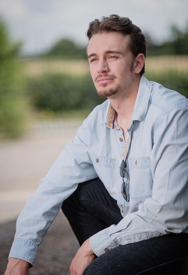 Commercial male model in Lichfield