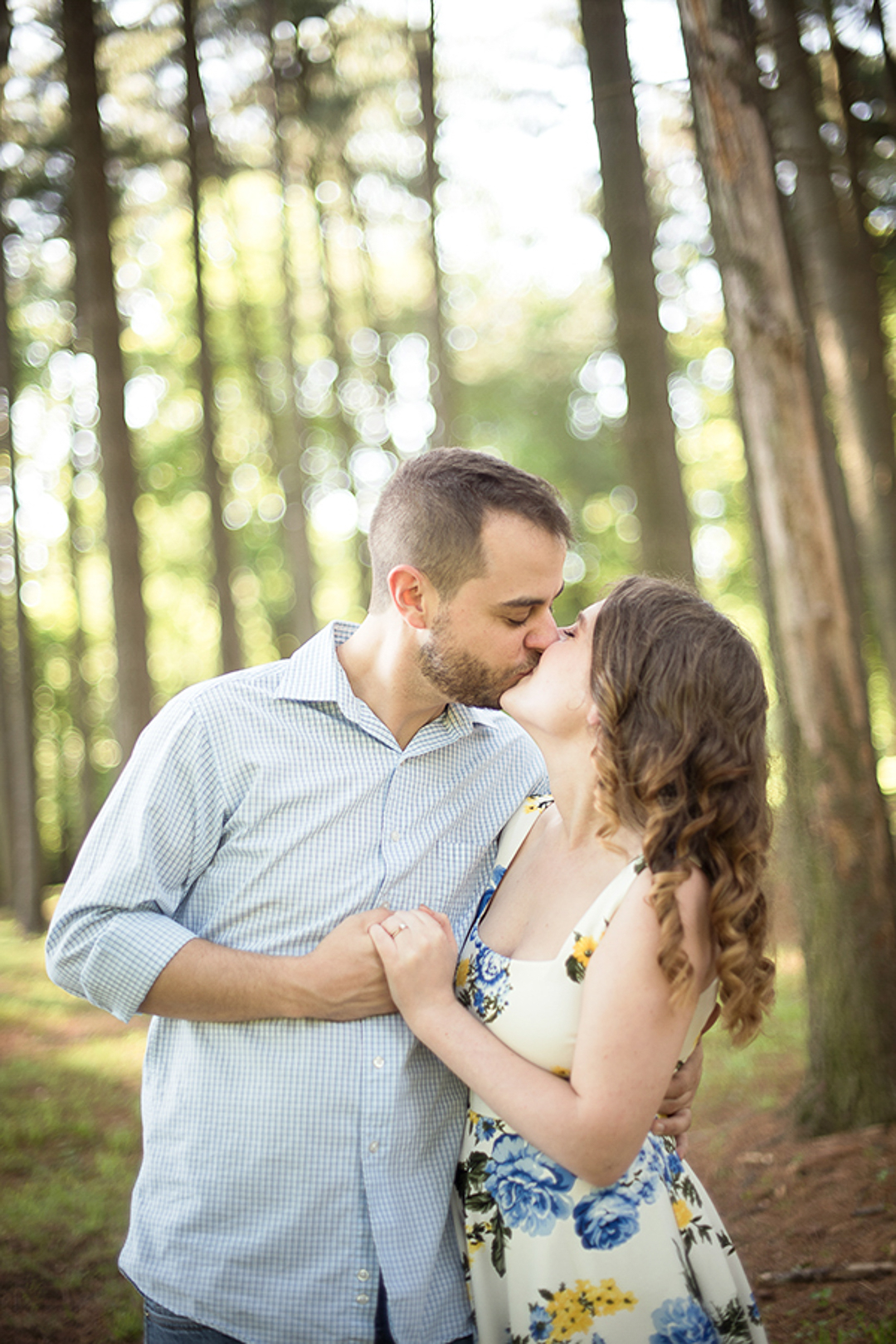 Engagement Session at Valley Garden Park