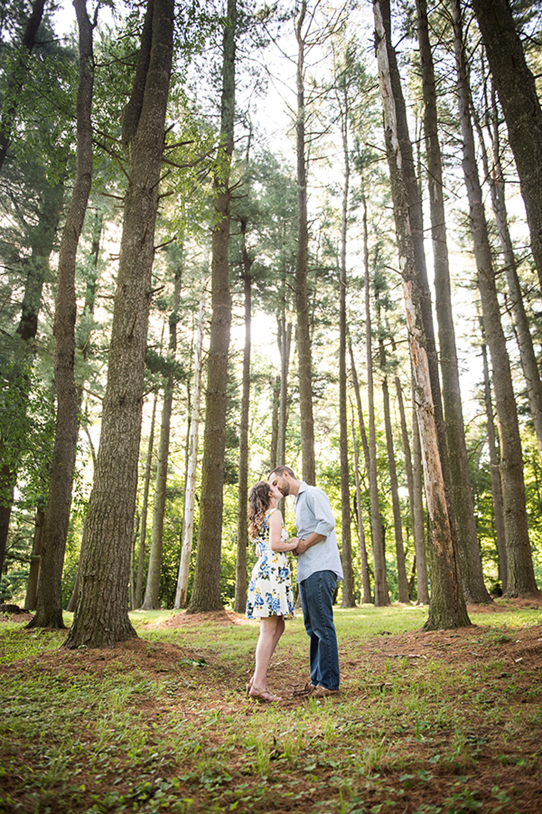 Valley Garden Park Engagement Session