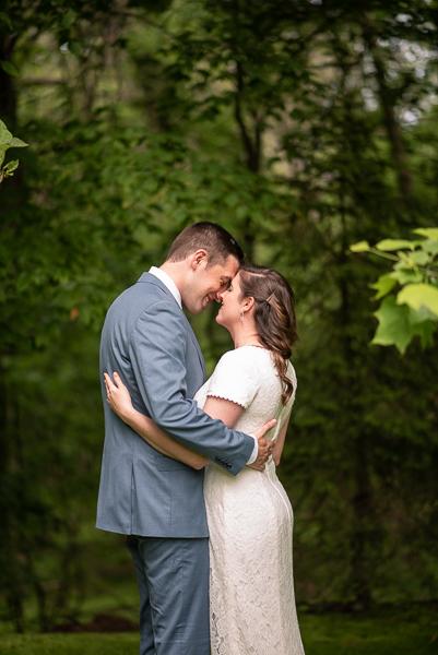 Intimate Delaware wedding