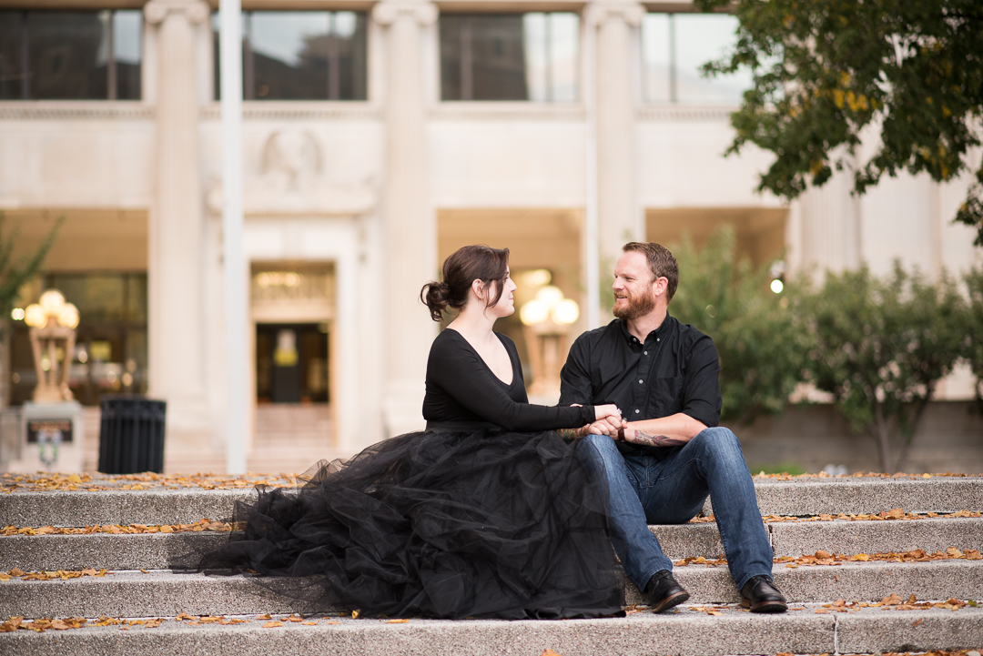Downtown Wilmington Engagement
