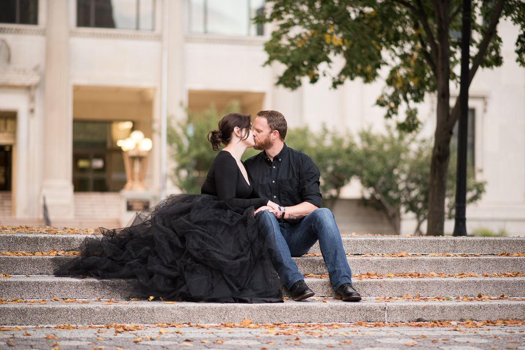 Rodney Square Engagement Picture