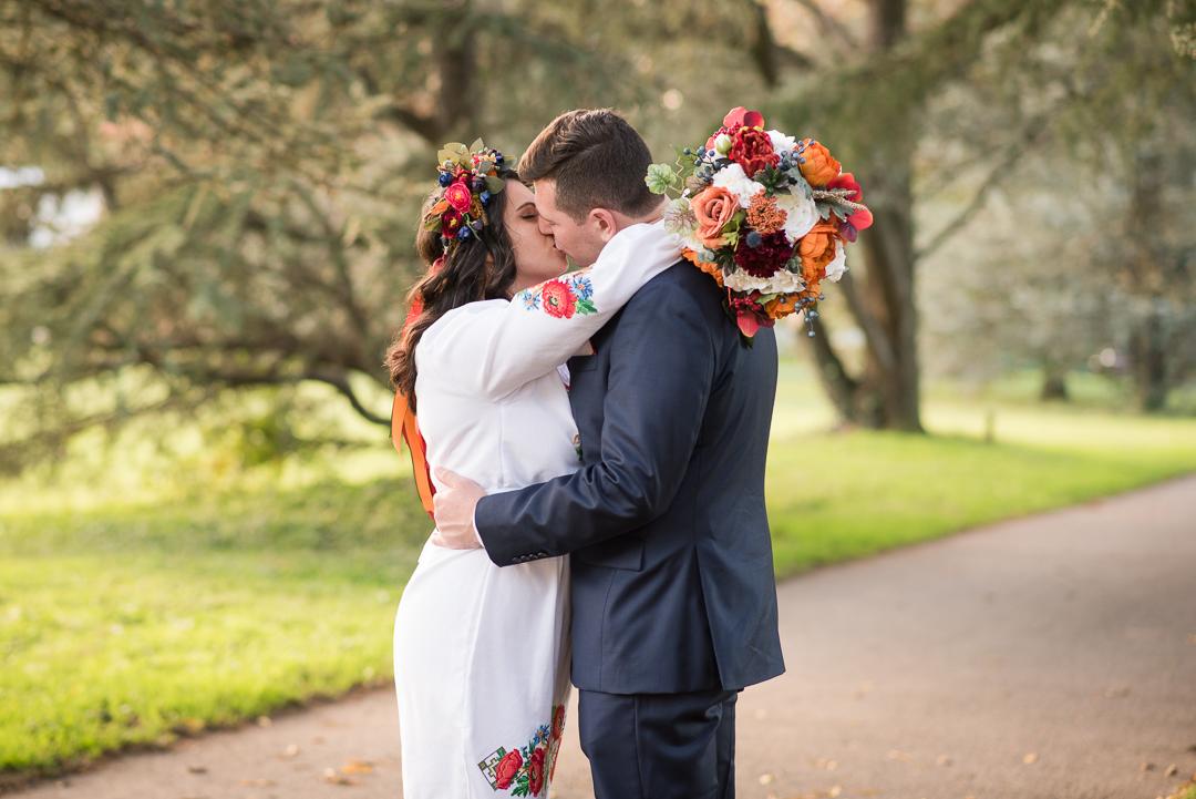 Fall Wedding Bellevue Park
