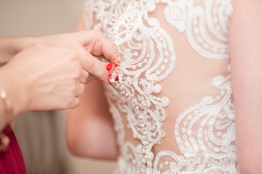 October wedding dress