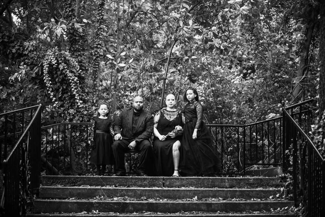 Marian Coffin Gardens family photo