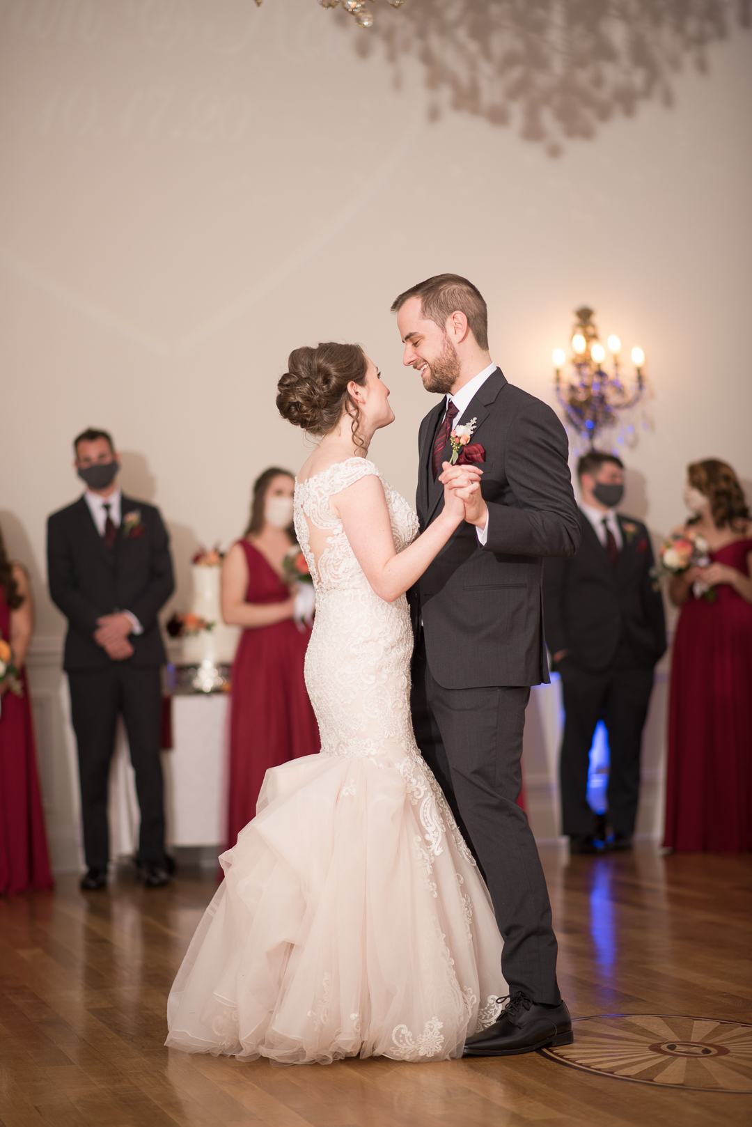 October Wedding at University & Whist Club