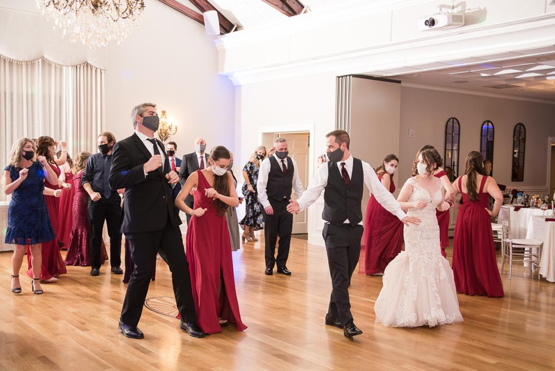 October Wedding University & Whist Club