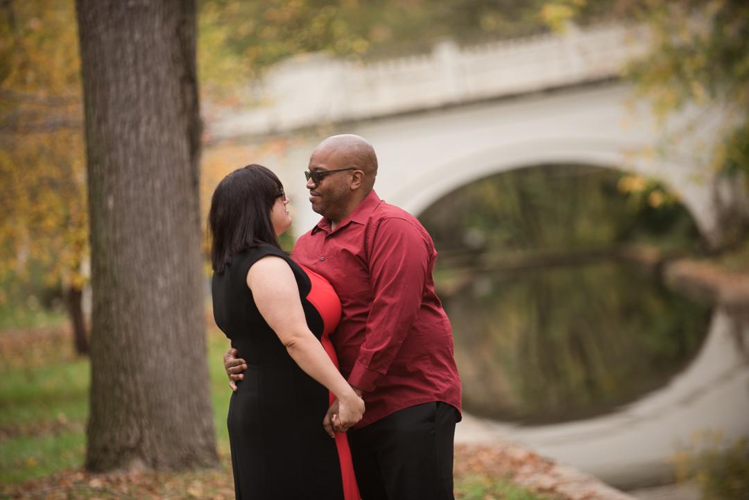 Brandywine Park engagement session