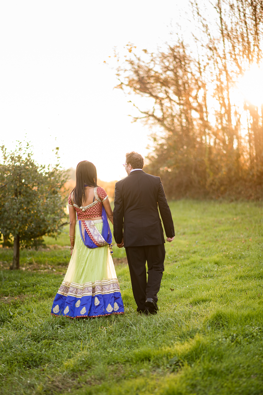 Milburn Orchards Engagement Session
