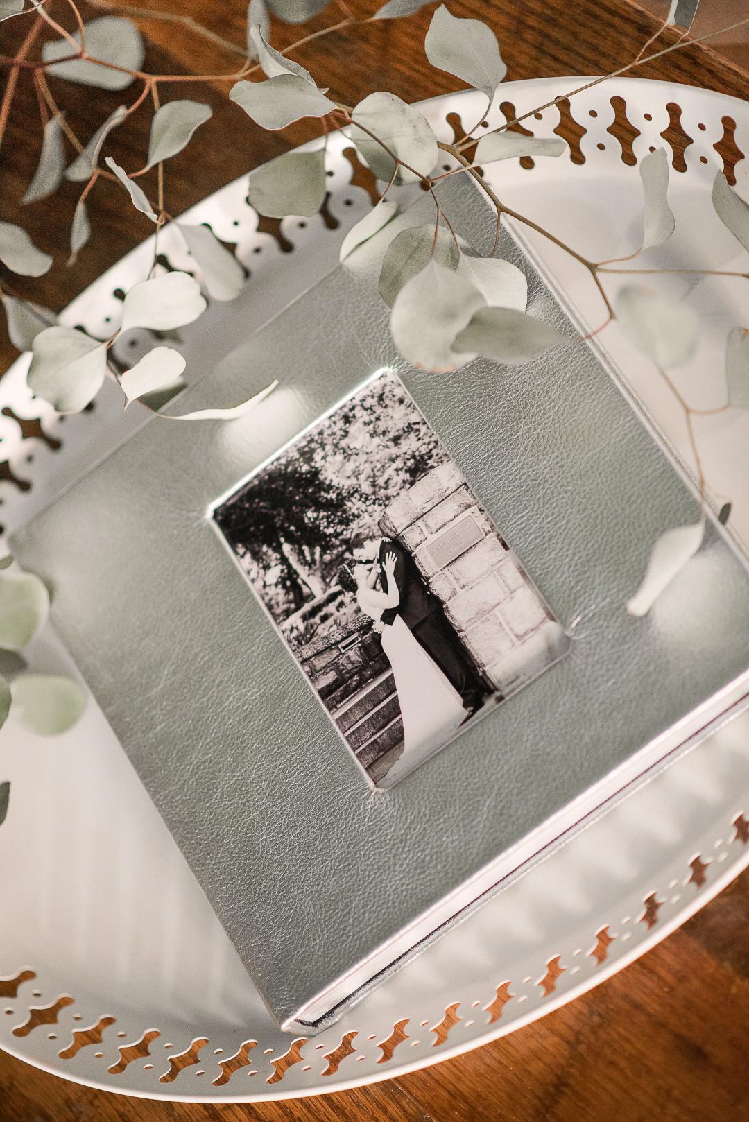 silver wedding album