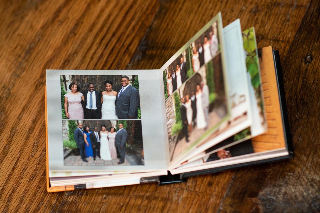 small wedding album