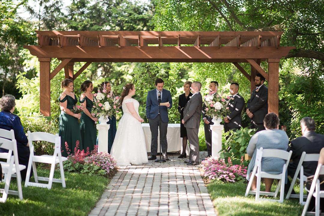 May wedding at Whist Club