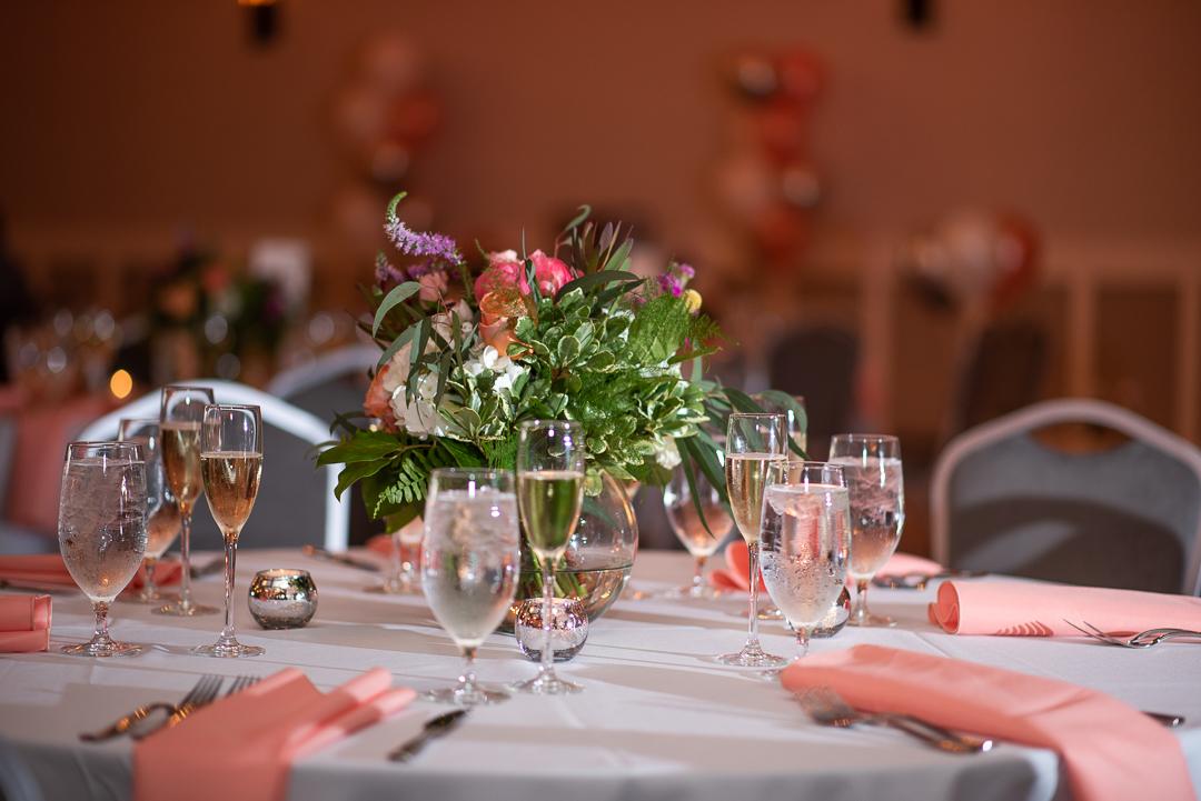 Riverfront Events table decor