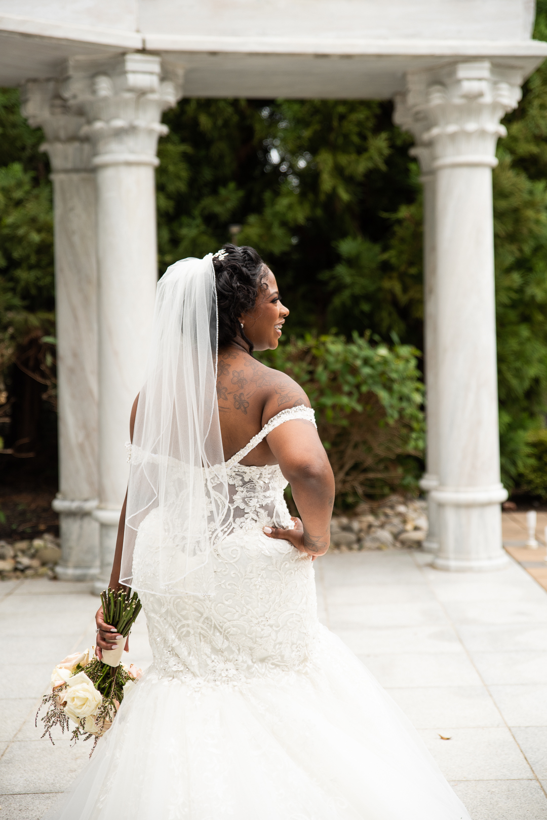 waterfall wedding Delaware