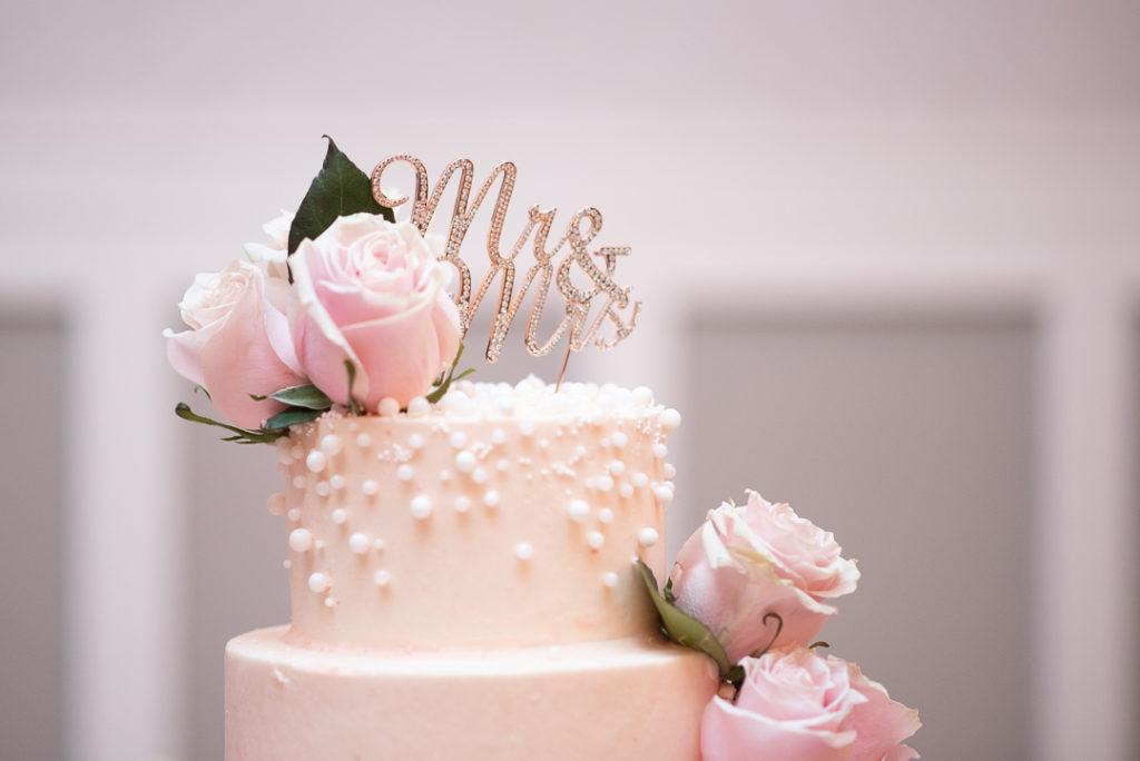 Delaware wedding cake