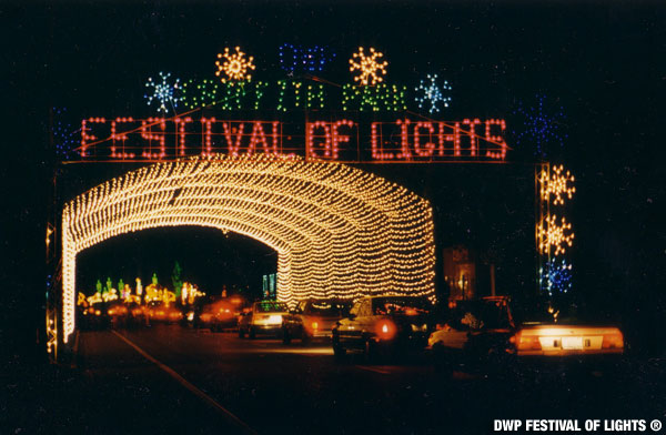 Festival Lights Los Angeles