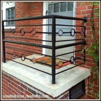 Creative Iron Designs | Black Iron Pipe Handrail | Custom Iron | Galvanized Pipe | Stairway | Aluminum Pipe | Water Pipe
