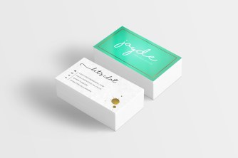 Business Card Mockup)