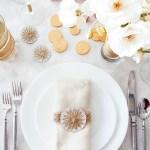 Geometric String Star Holiday Napkin Rings Creative Jewish Mom