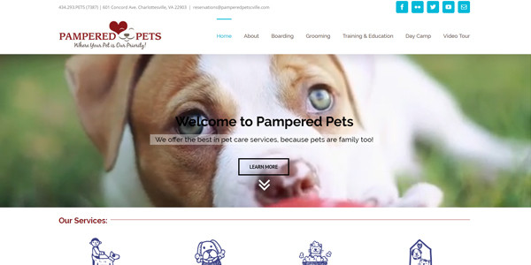 Pampered Pets Charlottesville