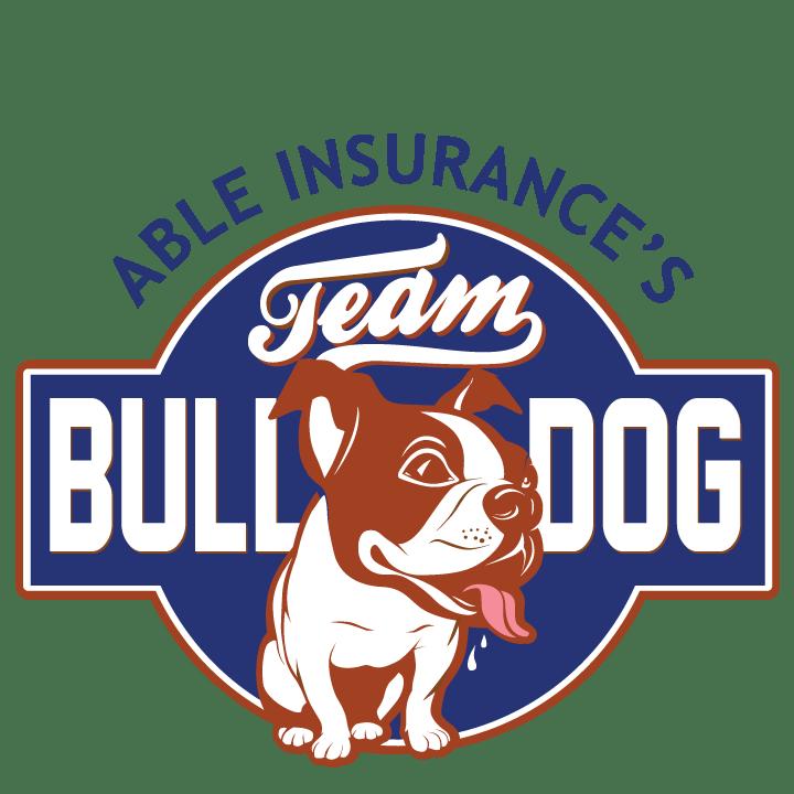 Able Insurance Softball team logo