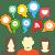 social media icons homepage