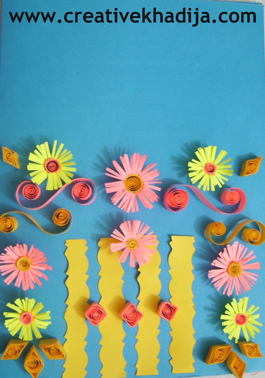 Paper quilling cards - Paper quilling ideas for kids ...