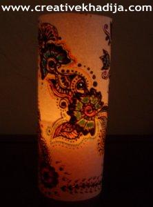 paper lantern making