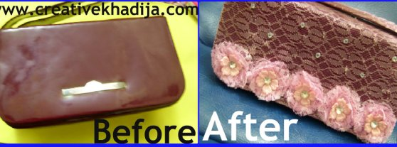 before after purse refashion