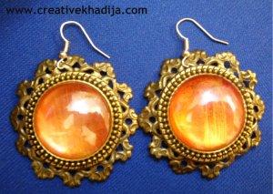 stone earrings making