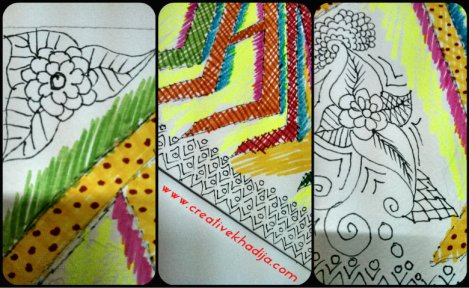 sketch drawing design cards