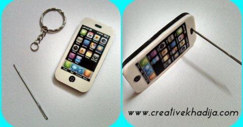 iphone keychain diy