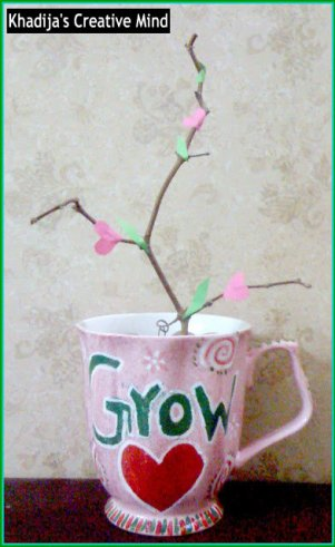 valentine's day crafts ideas Love Mug