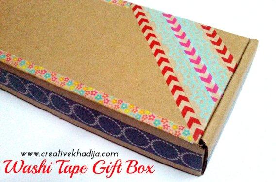 washi tape design gift pack idea