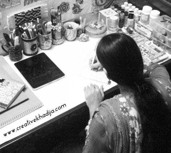 creative khadija craft room wall paintings