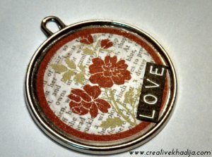 handmade pendant making