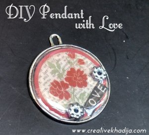 handmade pendant making love