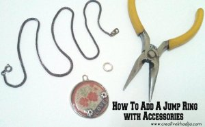 how to add jump ring with accessories pendant