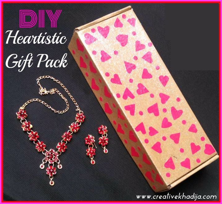Gift Packing Idea For Valentines Day